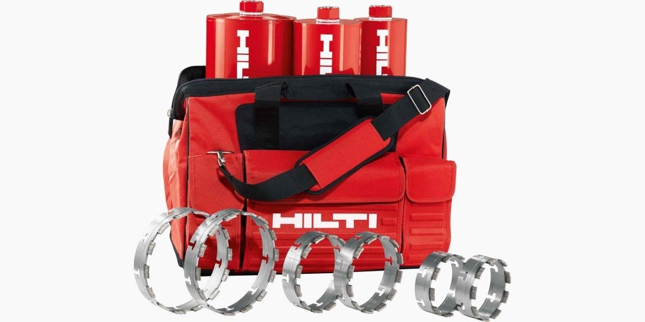 Hilti soft bag with x-change modules